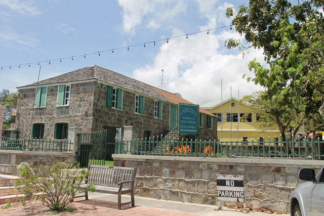 The Nevis Island Assembly on Samuel Hunkins Drive in Charlestown
