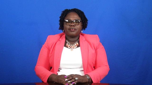 Hon. Hazel Brandy-Williams, Junior Minister of Gender Affairs on Nevis