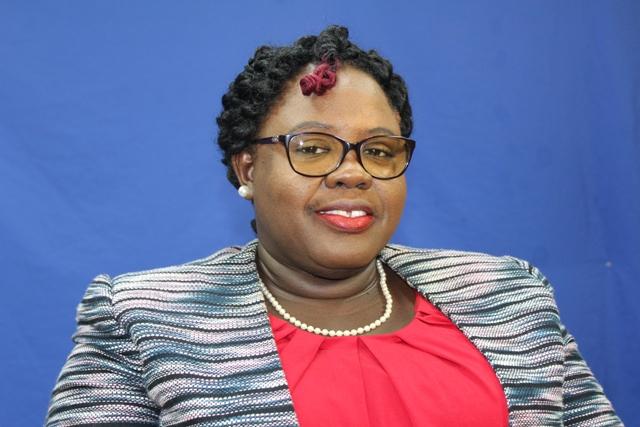 Hon. Hazel Brandy-Williams, Junior Minister Health on Nevis