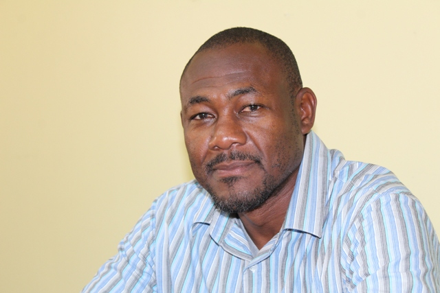 Mr. Brian Dyer, Director of the Nevis Disaster Management Department on Nevis