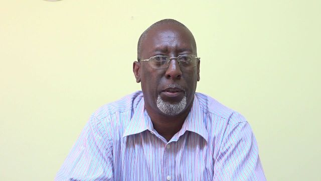 Mr. Abonaty Liburd, Executive Director of the Nevis Culturama Secretariat in the Ministry of Culture