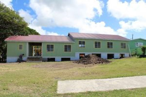The new section of the Ivor Walters Primary School on November 01, 2018 nearing completion
