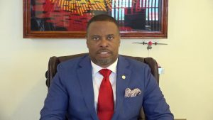 Hon. Mark Brantley, Minister of Aviation in St. Kitts and Nevis