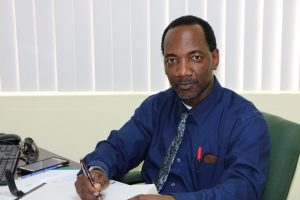 Mr. Kevin Barrett, Permanent Secretary in the Ministry of Education on Nevis