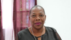 Ms. Lorraine Archibald, Coordinator of the Gender Affairs Division, in the Premier's Ministry on Nevis
