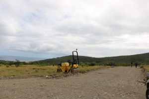 Subdivision of lots and infrastructural works have already begun ahead of the official start of the University Heights housing development project at Lower Spring Hill for returning university graduates contributing to the development of Nevis