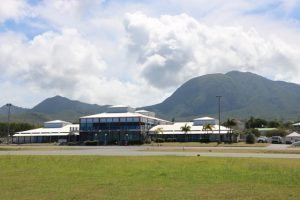 The Vance W. Amory International Airport on February 07, 2019, slated for major development by the Nevis Island Administration