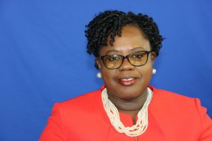 Hon. Hazel Brandy-Williams, Junior Minister of Health in the Nevis Island Administration
