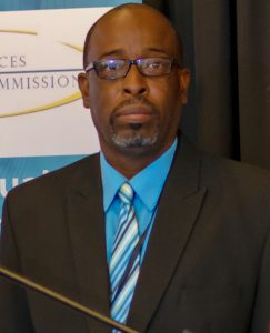 Mr. Conrad Smithen, Moderator of the 14th Annual AML/CFT Conference on March 11, 2019 at the Four Seasons Resort Nevis.