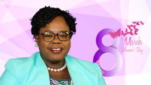 Hon. Hazel Brandy, Junior Minister of Gender Affairs in the Nevis Island Administration