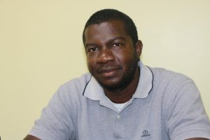 Mr. Randy Morton, Fisheries Officer at the Department of Marine Resources on Nevis