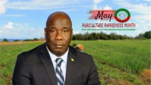 Hon. Alexis Jeffers, Deputy Premier of Nevis and Minister of Agriculture