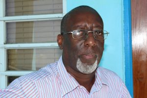 "Mr. Antonio ""Abonaty"" Liburd, Executive Director of the Culturama Secretariat in the Ministry of Culture on Nevis"