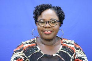 Hon. Hazel Brandy-Williams, Junior Minister of Health on Nevis