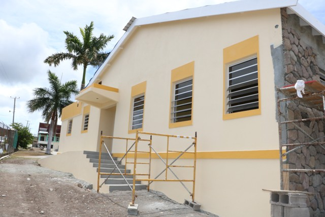 The expansion of the kitchen facility at the Flamboyant Nursing Home on Thursday, May, 23, 2019