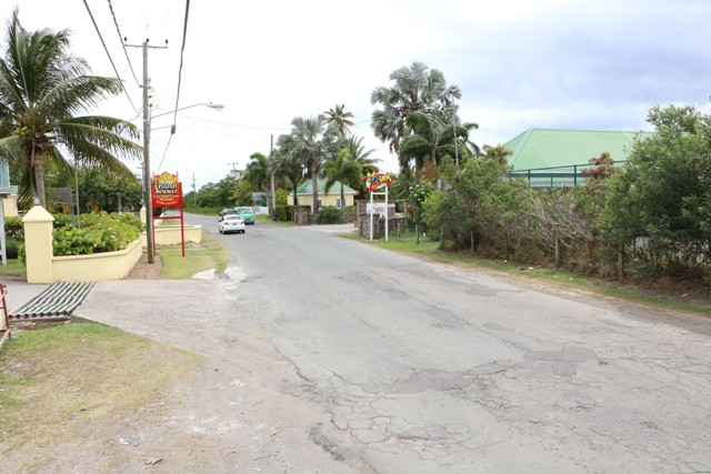 A section of the Island Main Road from Cotton Ground to Cliff Dwellers which will be under construction from July 08, 2019 as part of Phase 1 of the Nevis Island Administration's Phase 1 of the Island Main Road Rehabilitation and Safety Project commencing on July 08, 2019