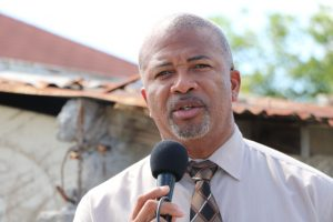 Hon. Spencer Brand, Minister of Communication and Works in the Nevis island Administration, on August 20, 2019