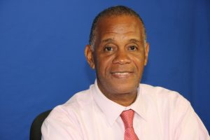 Hon. Eric Evelyn Minister of Social Development in the Nevis Island Administration