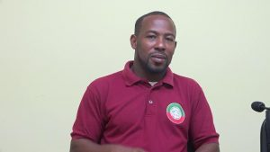 Mr. Steve Reid Jr., Chief Extension Officer in the Department of Agriculture, at the Department of Information on September 24, 2019