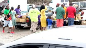 More patrons at a previous Farmers Market at the top of Government Road organised by the Department of Agriculture on Nevis