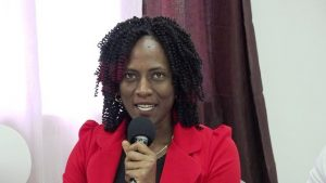 Mrs. Shelisa Martin-Clarke, Acting Permanent Secretary in the Ministry of Health