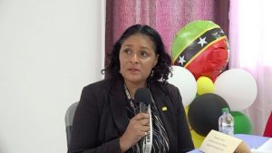 Ms. Shelagh James, Communications Officer in the Ministry of Health