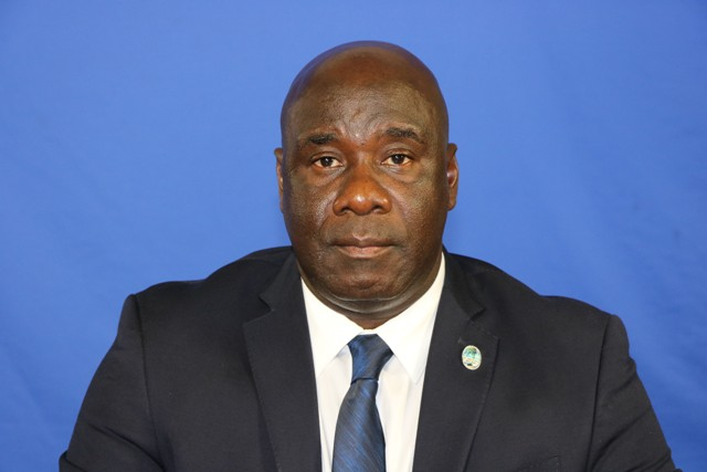 Hon. Alexis Jeffers, Deputy Premier of Nevis and Minister of Agriculture in the Nevis Island Administration (file photo)