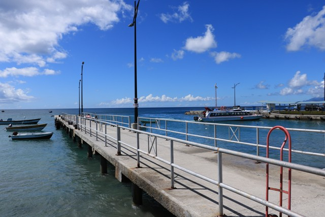 Construction work on this damaged pier in Charlestown to commence November 01, 2019, at a cost of US$325,330.00