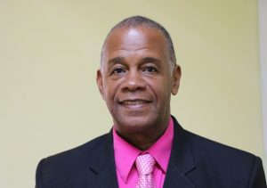 Hon. Eric Evelyn, Minister of Community Development in the Nevis Island Administration