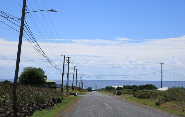 The LED lighting installed along the Long Point road in the Nevis Electricity Company Limited's Street Lighting Replacement Project