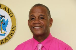 Hon. Eric Evelyn, Minister of Social Development in the Nevis Island Administration