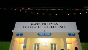 The David Freeman Centre of Excellence, the name given to a multi-purpose facility in Market Shop in Gingerland moments after it's unveiling by the family of cultural icon Mr. David Freeman at the opening and naming ceremony on November 28, 2019