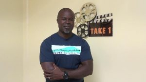 Mr. Greg Phillip, Race Director for the 18th annual Nevis Triathlon hosted by Nevis Multisport