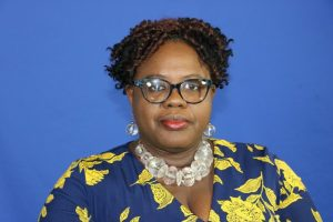 Hon. Hazel Brandy-Williams, Junior Minister of Health on Nevis