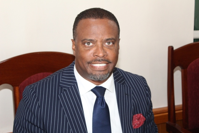 Hon. Mark Brantley, Premier of Nevis and Minister of Finance in the Nevis Island Administration at a sitting of the Nevis Island Assembly (file photo)