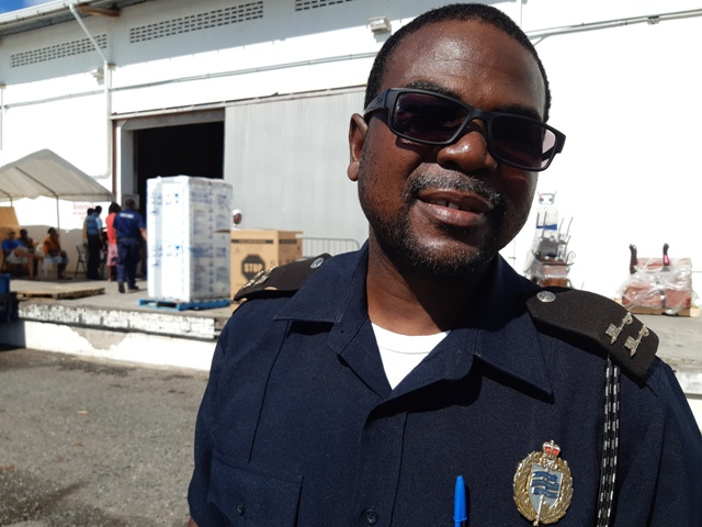Mr. Roger Fyfield, Assistant Controller of Customs in the Nevis Division