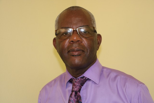 Mr. Oral Brandy, General Manager of the Nevis Air and Sea Ports Authority