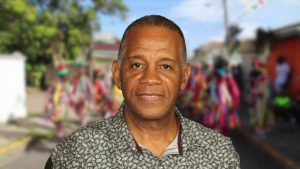 Hon. Eric Evelyn, Minister of Culture in the Nevis Island Administration on April 08, 2020