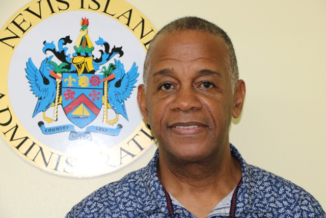 Hon. Eric Evelyn, Minister of Social Development in the Nevis Island Administration on April 08, 2020