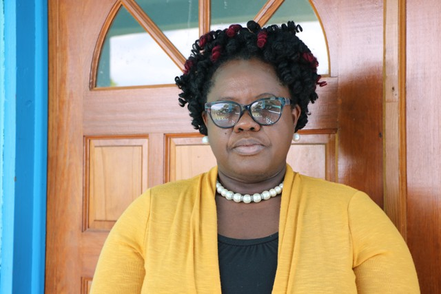 Hon. Hazel Brandy-Williams, Junior Minister of Health in the Nevis Island Administration on April 07, 2020