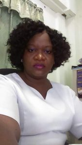 Simone Harris, President of the Nevis Nurses Association (photo provided)