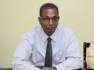 Mr. Gilroy Pultie, General Manager of the Nevis Electricity Company Limited (file photo)