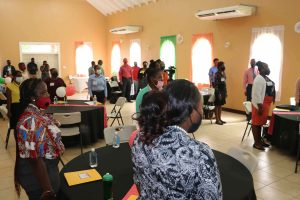 Participants at the Prospective Teachers Course 2020 at the Jessups Community Center on July 13, 2020