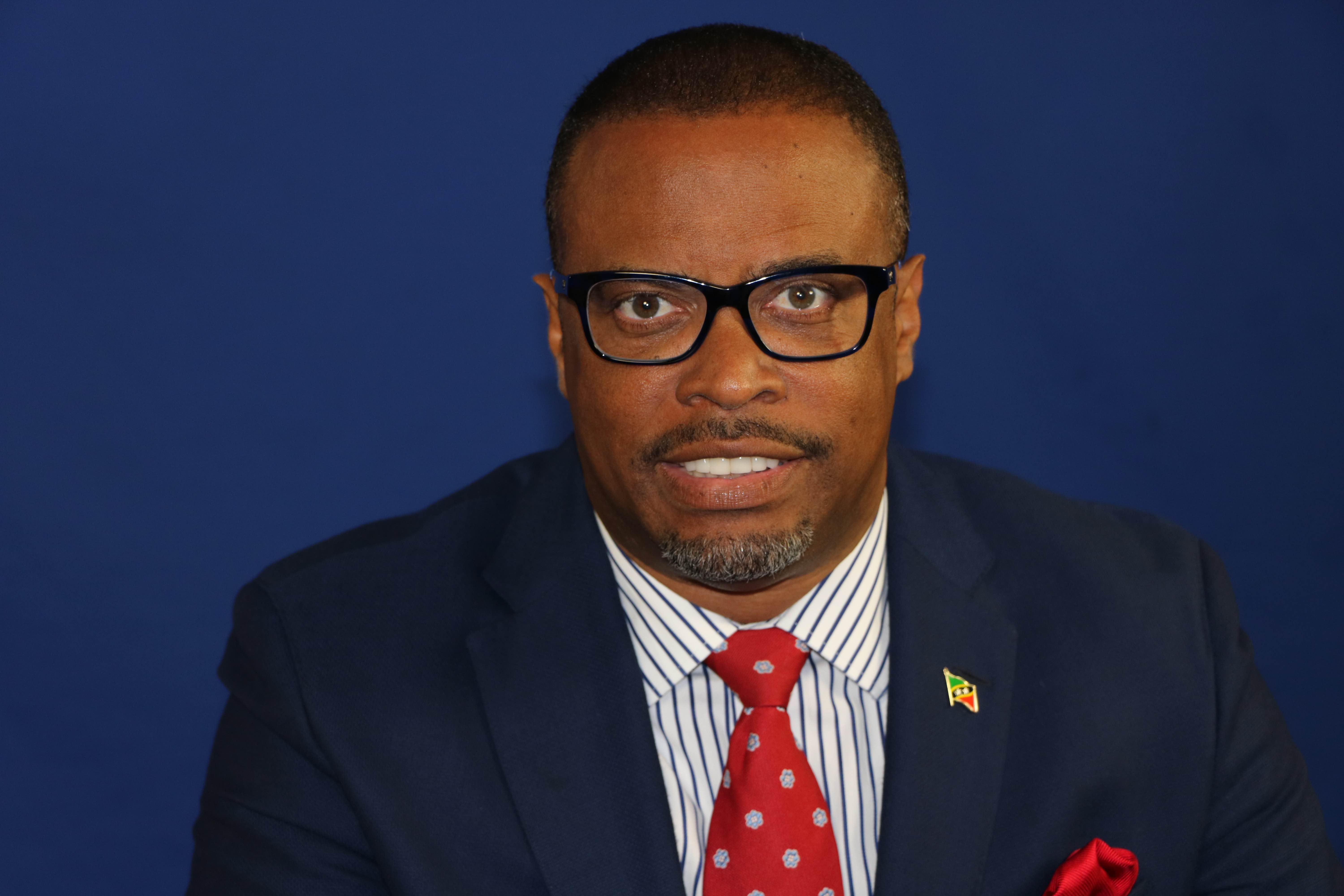 Hon. Mark Brantley, Premier of Nevis Minister of Tourism in the Nevis Island Administration (file photo)