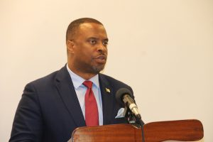 Hon. Mark Brantley, Premier of Nevis and Minister of Finance (file photo)