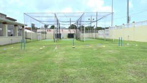 Amenities at the new Livingstone Sargeant Cricket Practice Facility