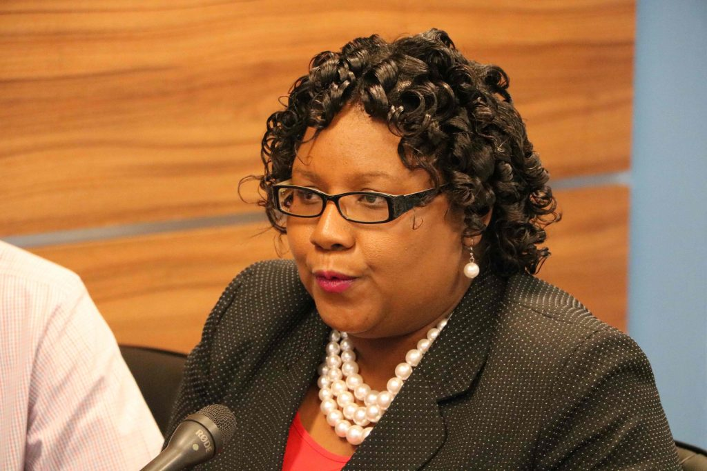 Ms. Zahnela Claxton, Principal Education Officer in the Department of Education in Nevis (file photo)