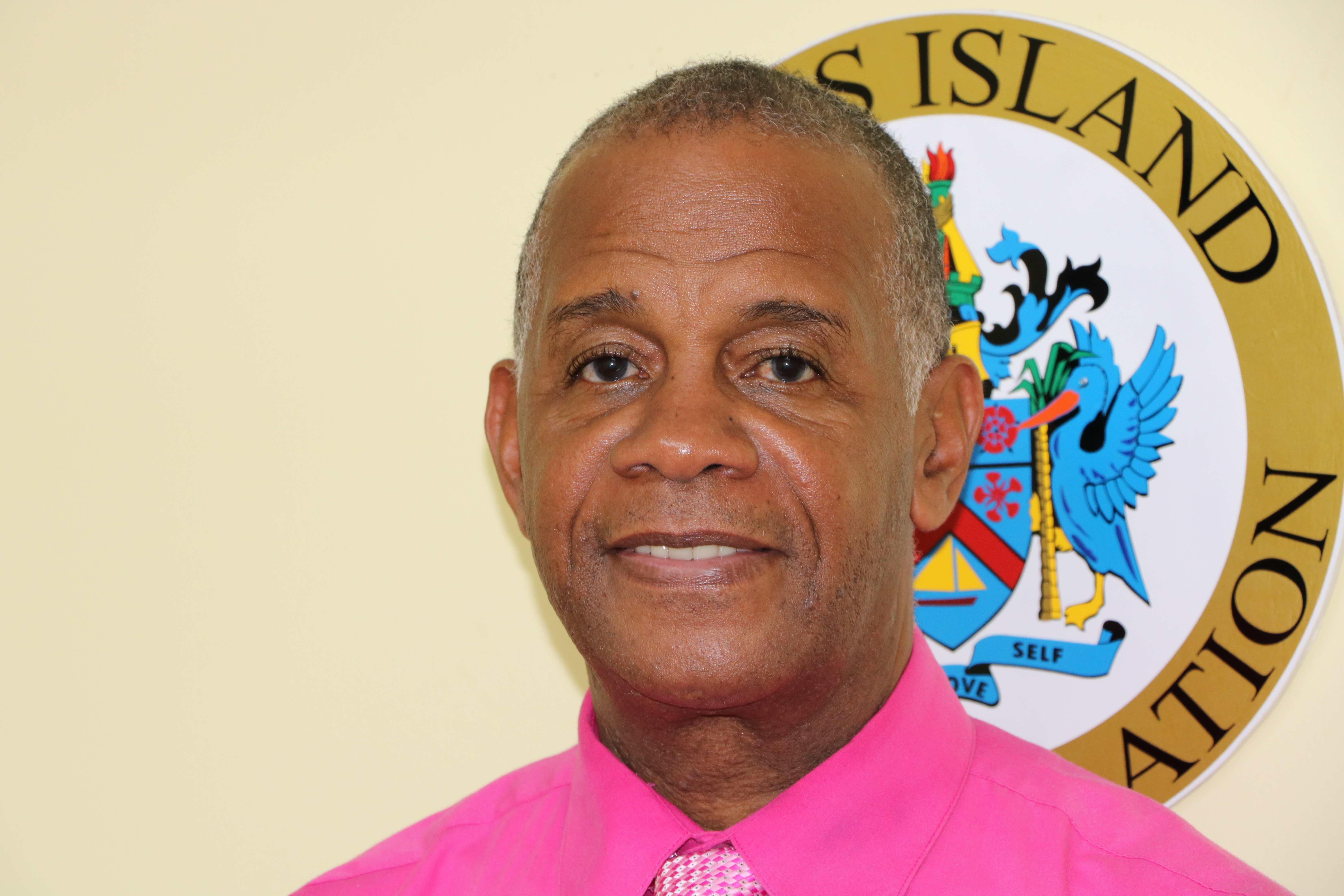 Hon. Eric Evelyn, Minister of Social Development in the Nevis Island Administration (file photo)