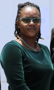 Ms. Saneldo Willett, President of the Nevis Reformation Party Youth Arm (file photo)