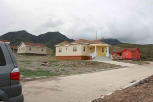 Affordable homes constructed by the Nevis Housing and Land Development Corporation in the Cedar View Housing Development Project at Maddens from $10 million in funding from the St. Christopher and Nevis Social Security Board (file photo)